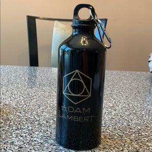 Adam Lambert 26 oz water bottle